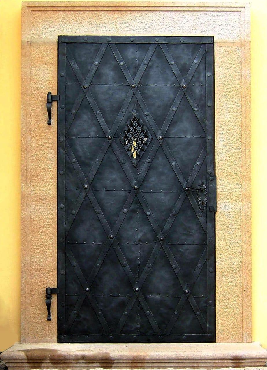 Jednokřídlové dveře