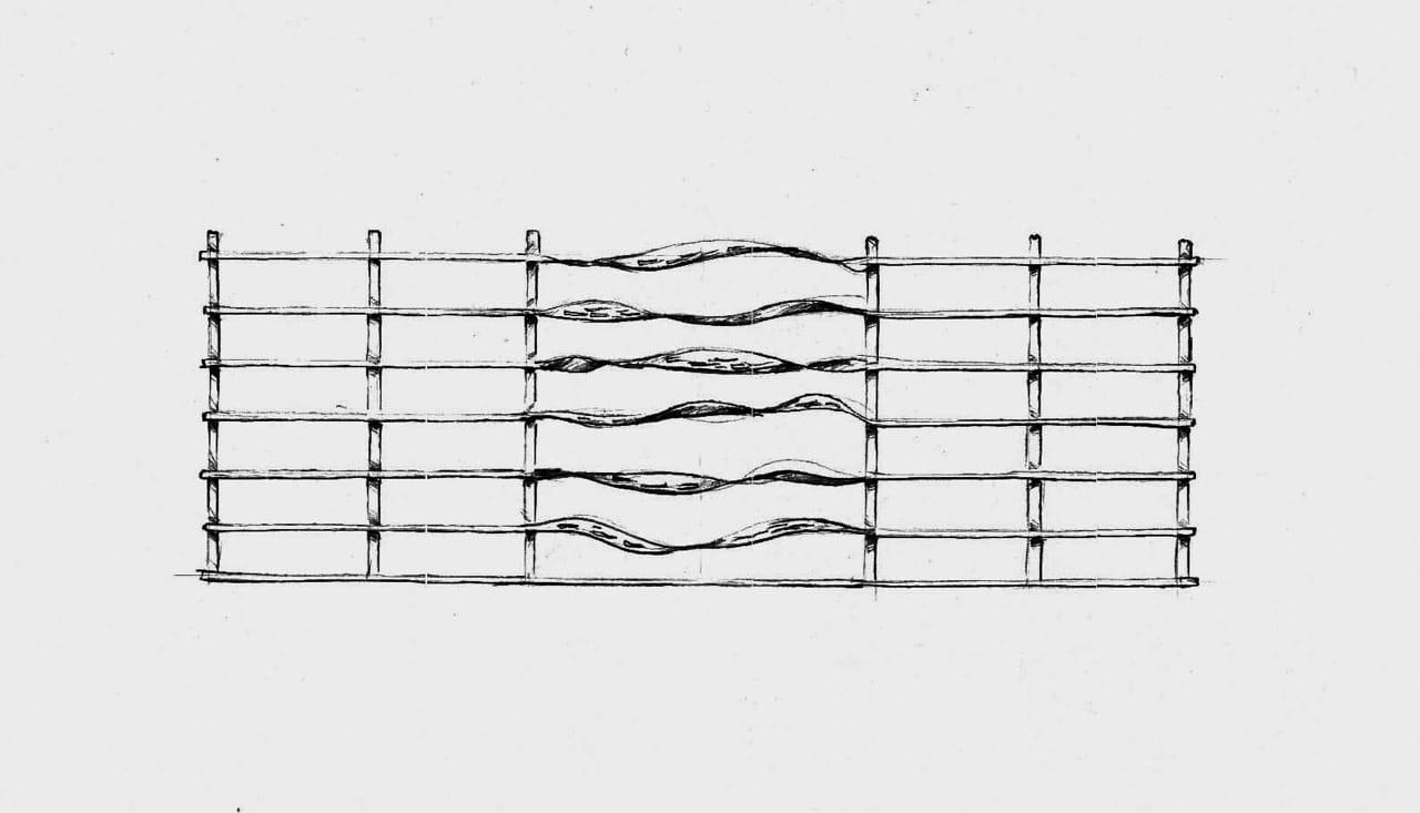 Návrh plotového pole