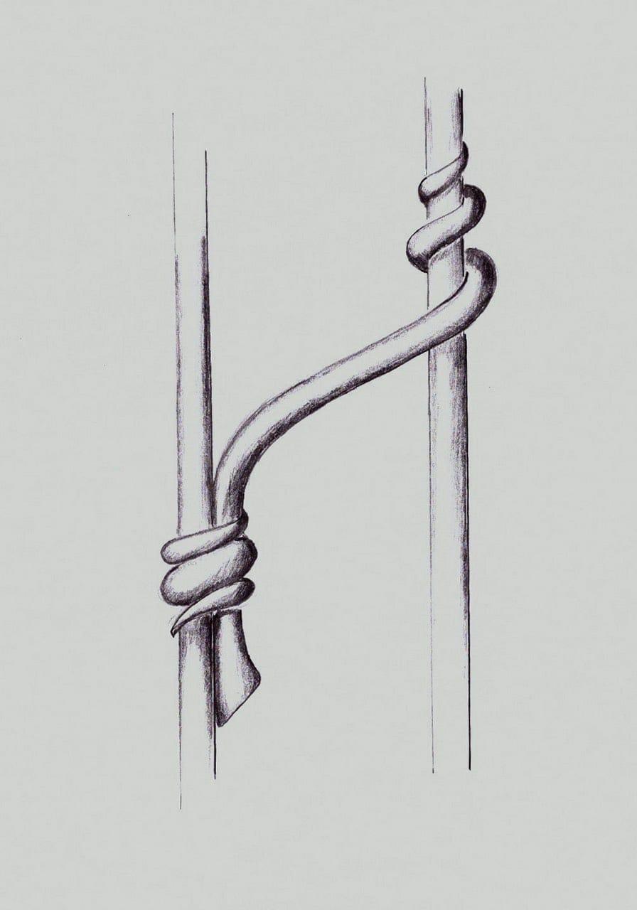 Návrh kované brány