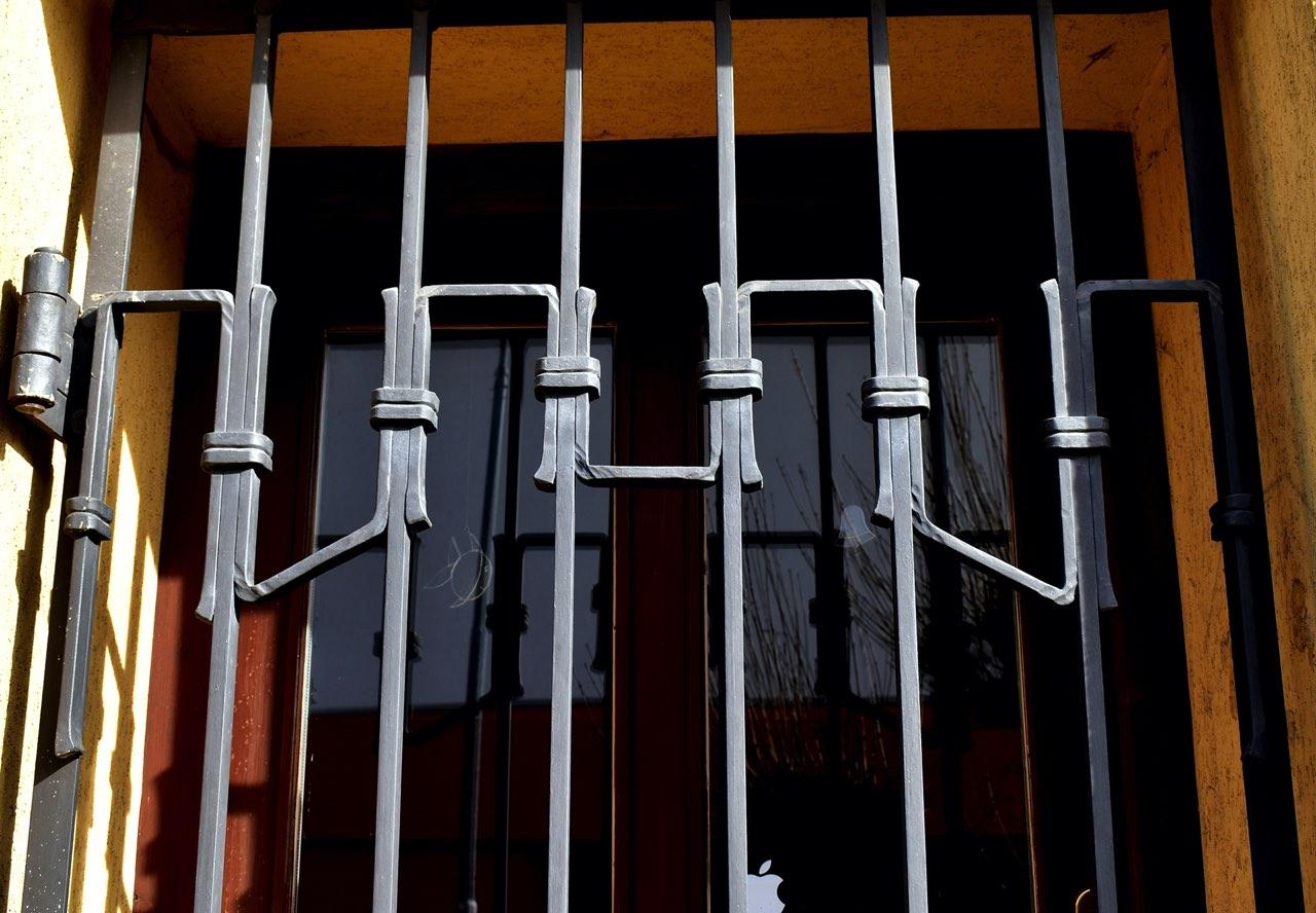 Kované mříže