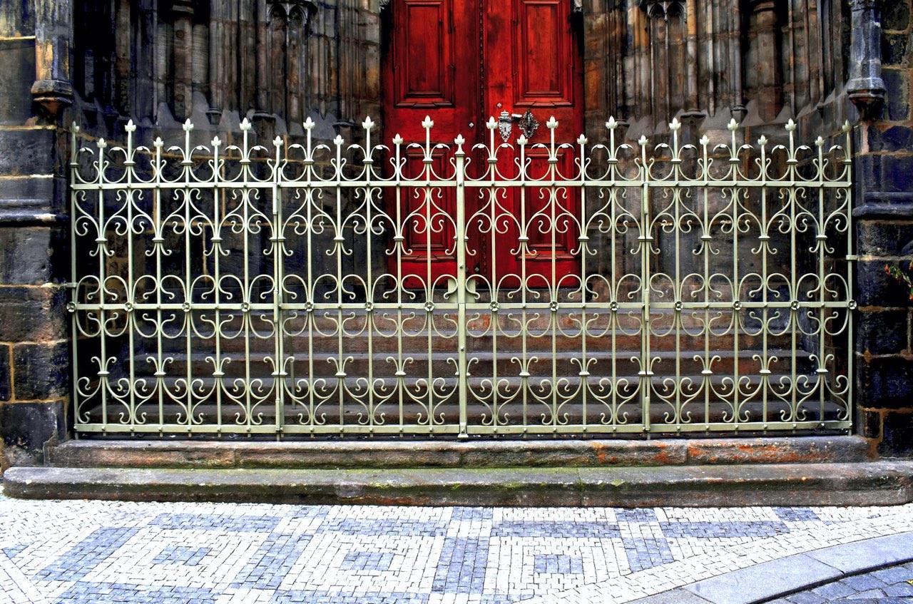 Kopie historické mříže