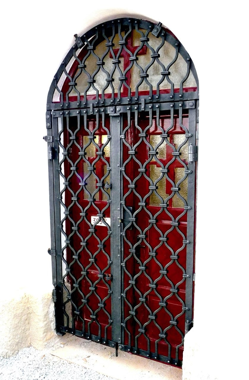 vstupní kované mříže
